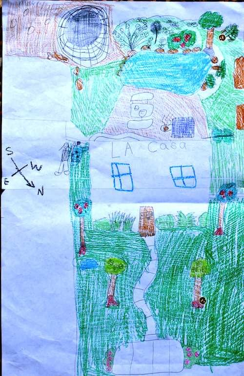 Geography for Kids: Map your Backyard for a Treasure Hunt!